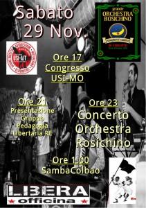 Libera Sab 29 Nov